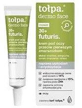 Düfte, Parfümerie und Kosmetik Augencreme gegen die ersten Falten 30+ - Tolpa Dermo Face Futuris 30+ Eye Cream