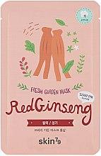 Düfte, Parfümerie und Kosmetik Erfrischende Tuchmaske mit rotem Ginseng - Skin79 Fresh Garden Red Ginseng Mask