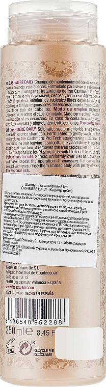 Haarshampoo mit Aminocare-Komplex - Kosswell Professional Cashmere Daily — Bild N2