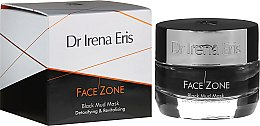 Düfte, Parfümerie und Kosmetik Revitalisierende schwarze Schlammmaske mit Detox-Effekt - Dr Irena Eris Face Zone Black Mud Mask Detoxifying & Revitalising
