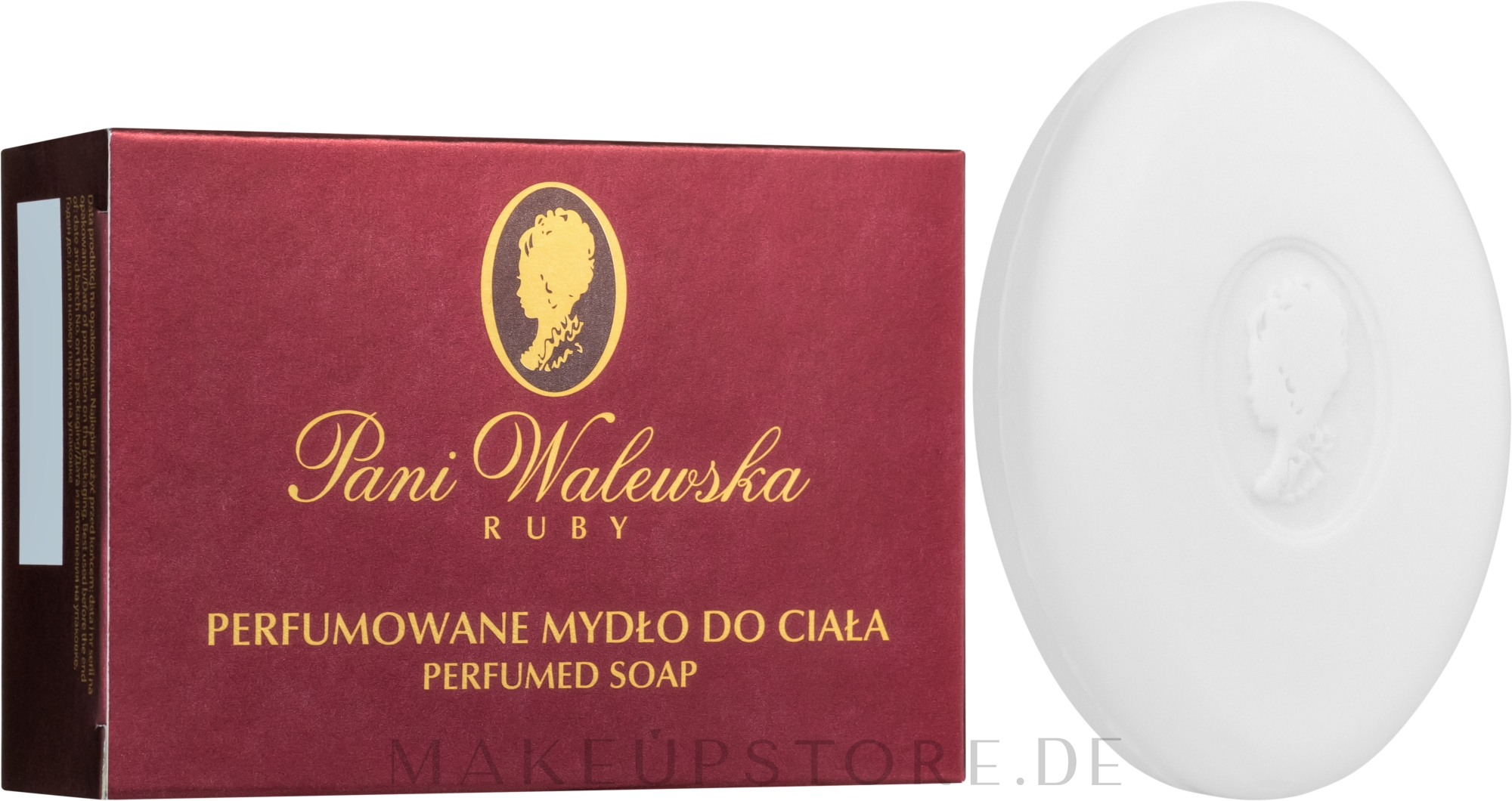 Parfümierte Körperseife Ruby - Pani Walewska Ruby Soap — Bild 100 g