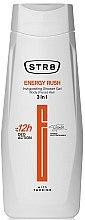 Düfte, Parfümerie und Kosmetik Belebendes Duschgel für Körper, Gesicht und Haar 3in1 - STR8 Energy Rush Invigorating Shower Gel 3in1
