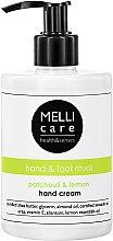 Handcreme mit Patchouli und Zitrone - Melli Care Patchouli&Lemon Hand Cream — Bild N3