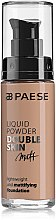 Düfte, Parfümerie und Kosmetik Mattierende flüssige Foundation - Paese Liquid Powder Double Skin Matt