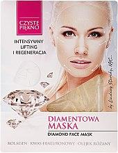 """Düfte, Parfümerie und Kosmetik Gesichtsmaske """"Diamant"""" - Czyste Piekno Diamond Face Mask"""