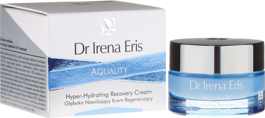 Regenerierende und feuchtigkeitsspendende Gesichtscreme - Dr Irena Eris Aquality Hyper-Hydrating Recovery Cream
