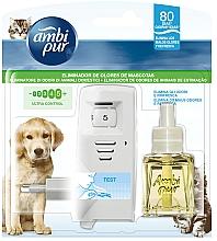 Düfte, Parfümerie und Kosmetik Lufterfrischer-Set Tierpflege - Ambi Pur (Aromadiffusor 1 St. + Refill 21.5ml)