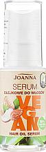 Düfte, Parfümerie und Kosmetik Pflegendes Haarserum mit Macadamia-, Kokos- und Mandelöl und Sheabutter - Joanna Vegan Hair Oil Serum