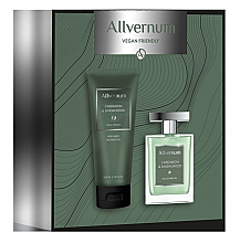 Düfte, Parfümerie und Kosmetik Allvernum Cardamom & Sandalwood - Duftset (Eau de Parfum 100ml + Duschgel 200ml)