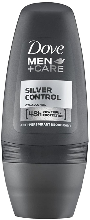 Deo Roll-on Antitranspirant - Dove Deo Roll-On Silver Control — Bild N1