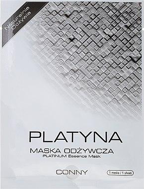 Feuchtigkeitsspendende und nährende Gesichtsmaske mit Platin - Conny Platinum Essence Mask — Bild N1