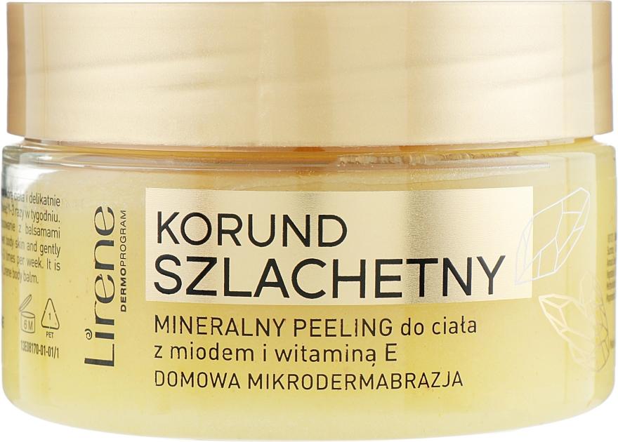 Mineralisches Körperpeeling mit Honig und Vitamin E - Lirene Dermo Program — Bild N1