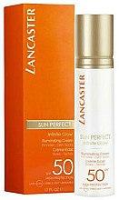 Düfte, Parfümerie und Kosmetik Anti-Aging Sonnenschutzcreme für das Gesicht SPF 50 - Lancaster Sun Perfect Infinite Glow Cream SPF50