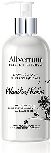 """Hand- und Körperelixier """"Vanille und Kokosnuss"""" - Allvernum Nature's Essences Elixir for Hands and Body — Bild N1"""