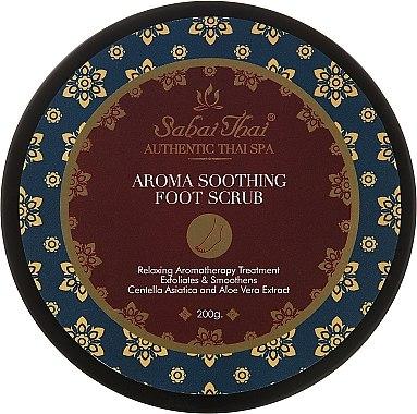 Fußpflegemittel Set - Sabai Thai Jasmine (Fußpeeling 200ml + Fußcreme 100ml) — Bild N3