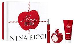 Düfte, Parfümerie und Kosmetik Nina Ricci Nina Rouge - Duftset (Eau de Toilette/50ml + Eau de Toilette/10ml + Körperlotion/75ml)