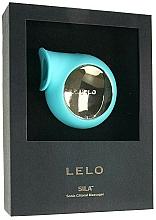 Düfte, Parfümerie und Kosmetik Wasserdichter Klitoral-Massager mit Schallwellen blau - Lelo Sila Aqua