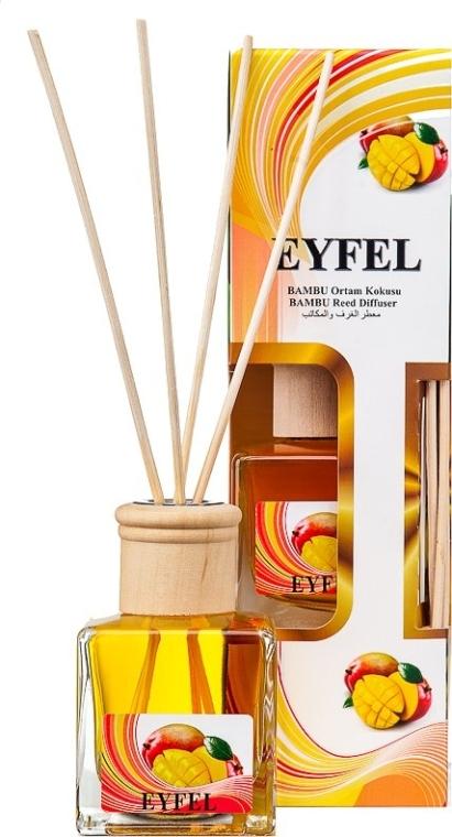 Raumerfrischer Mango - Eyfel Perfume Mango Reed Diffuser  — Bild N3