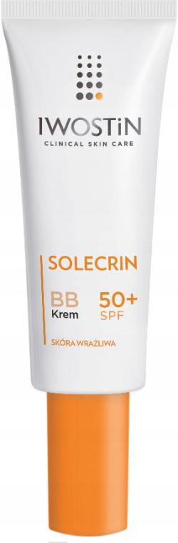 Sonnenschutzcreme für das Gesicht SPF 50+ - Iwostin Solecrin BB Cream SPF 50+ — Bild N1