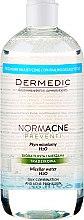 Mizellen-Reinigungswasser für fettige und Mischhaut - Dermedic NormAcne Preventi H2O Micellaire Water — Bild N5