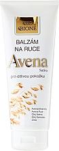 Düfte, Parfümerie und Kosmetik Handbalsam mit Hafer- und Hanföl - Bione Cosmetics Avena Sativa Hand Ointment