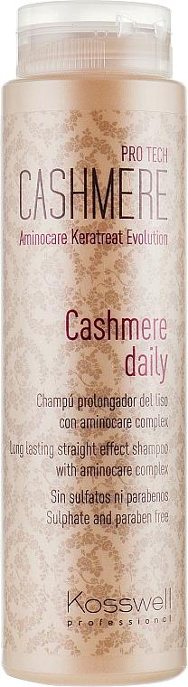 Haarshampoo mit Aminocare-Komplex - Kosswell Professional Cashmere Daily — Bild N1