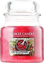 Düfte, Parfümerie und Kosmetik Duftkerze im Glas Red Raspberry - Yankee Candle Red Raspberry Jar