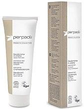 Düfte, Parfümerie und Kosmetik Parfümfreie Deo-Creme mit Kaktusfeigen-Extrakt - Pierpaoli Prebiotic Collection Cream Deodorant
