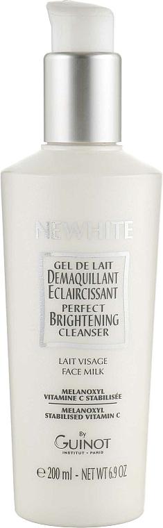 Aufhellende Gesichtsreinigungsmilch zum Abschminken mit Vitamin C - Guinot Newhite Perfect Brightening Cleanser — Bild N1