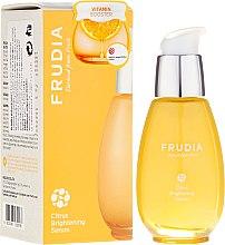 Düfte, Parfümerie und Kosmetik Aufhellendes Gesichtsserum mit Tangerine-Extrakt - Frudia Brightening Citrus Serum