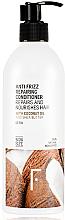 Düfte, Parfümerie und Kosmetik Anti-Frizz Haarpsülung mit Kokosnussöl und Sheabutter - Freshly Cosmetics Anti Frizz Repairing Conditioner