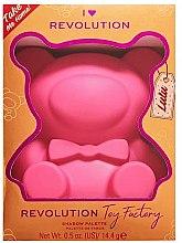 Düfte, Parfümerie und Kosmetik Lidschatten-Palette - I Heart Revolution Teddy Bear Palette Lulu