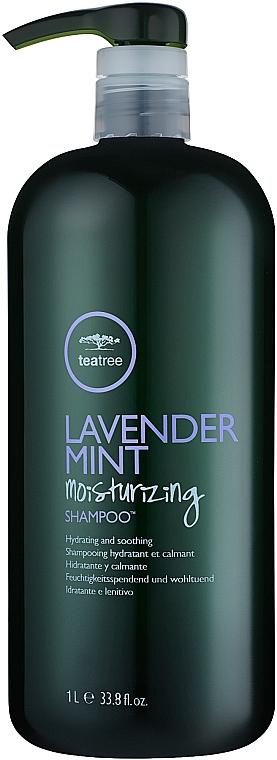 Feuchtigkeitsspendendes Shampoo mit Extrakten aus Lavendel, Minze und Teebaumöl - Paul Mitchell Tea Tree Lavender Mint Shampoo — Bild N2
