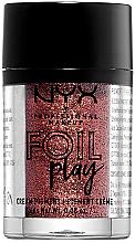 Düfte, Parfümerie und Kosmetik Cremiger Pigment-Lidschatten - NYX Professional Makeup Foil Play Cream Pigment