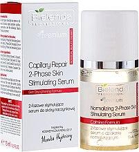 Düfte, Parfümerie und Kosmetik Zweiphasiges regenerierendes Gesichtsserum - Bielenda Professional Capilary Repair 2-Phase Skin Simulating Serum