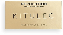 Make-up Set (Lidschattenpalette 2x7.8g) - Makeup Revolution Kitulec #BlendKitulca Shadow Palette — Bild N2
