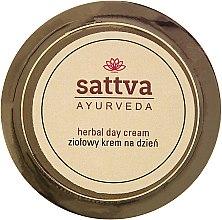 Tagescreme für Gesicht mit Heilkräutern - Sattva Ayurveda Herbal Day Cream — Bild N1
