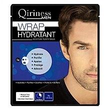 Düfte, Parfümerie und Kosmetik Feuchtigkeitsspendende Tuchmaske für Männer - Qiriness Wrap Hydratant Moisture Purity Mask
