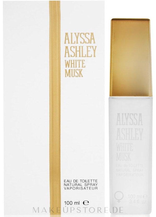 Alyssa Ashley White Musk - Eau de Toilette — Bild 100 ml