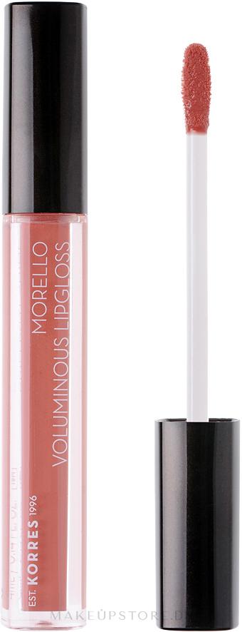 Lipgloss für mehr Volumen - Korres Morello Voluminous Lip Gloss — Bild 04 - Honey Nude