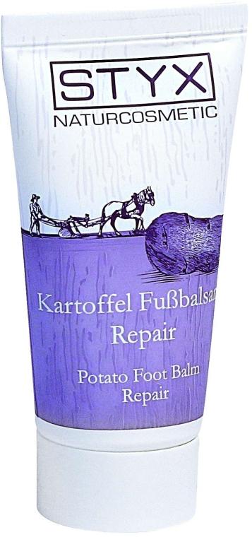 Regenerierender Kartoffel-Fußbalsam mit Lavendel- und Kokosöl - Styx Naturcosmetic Potato Foot Balm Repair (Probe) — Bild N1