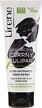 Düfte, Parfümerie und Kosmetik Ultra reparierende Handcreme mit schwarzer Bio-Tulpe, Holunder und Sheabutter - Lirene Organic Black Tulip Hand Cream