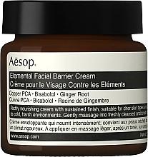 Intensiv nährende und feuchtigkeitsspendende Gesichtscreme für mehr Elastizität - Aesop Elemental Facial Barrier Cream — Bild N1