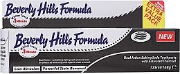 Düfte, Parfümerie und Kosmetik Zahnpasta mit Aktivkohle - Beverly Hills Formula Natural White Baking Soda With Charcoal