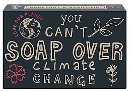 Düfte, Parfümerie und Kosmetik Natürliche Seife You Can't Soap Over Climate Change mit Brombeer- und Rhabarberduft - Bath House Barefoot And Beautiful Hand Soap Climate Change Blackberry & Rhubarb