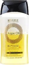 Düfte, Parfümerie und Kosmetik Regenerierender 2-Phasigen Make-Up Entferner mit Arganöl für Augen und Lippen - Revuele Argan Oil Bi-Phase Waterproof Make-up Remover