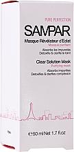 Düfte, Parfümerie und Kosmetik Reinigende Gesichtsmaske mit Mandelöl und Geranie - Sampar Clear Solution Mask