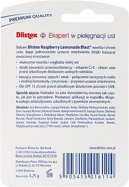 """Lippenbalsam """"Himbeer-Limonade"""" - Blistex Raspberry Lemonade Blast Lip Balm SPF 15 — Bild N2"""