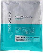 Düfte, Parfümerie und Kosmetik Exfolierende Fußmaske mit Glycolsäure und Aloe Vera - Avon Foot Works