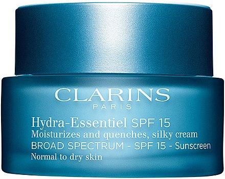 Feuchtigkeitscreme für normale und Mischhaut - Clarins Hydra-Essentiel Silky Cream SPF 15 Normal to Dry Skin — Bild N1